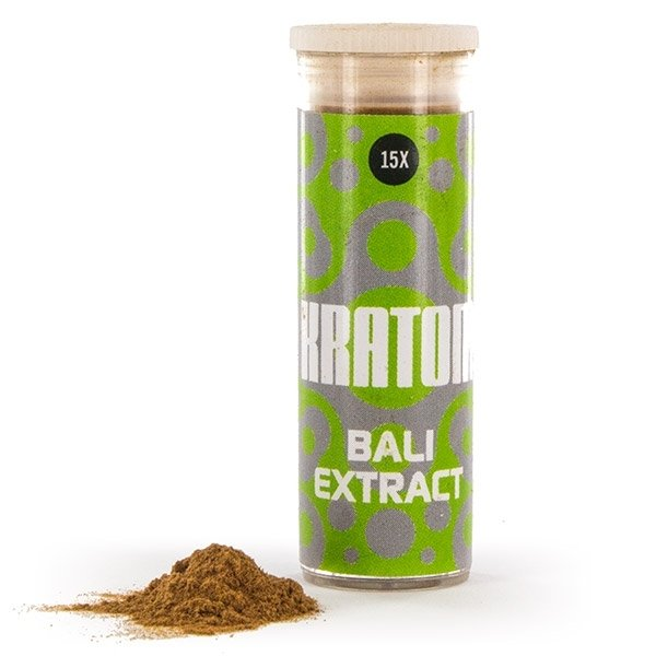 (Buy) Kratom Bali 15x Extract (3 grams)